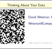Thinking in Data Workshop – David Weisman ODSC Boston 2015