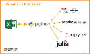 xlwings – Make Excel Fly with Python – Feliz Zumstein ODSC Boston 2015