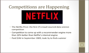 Mark Higgins ODSC Boston 2015 – Crowd Sourced Data Science Competitions