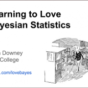 Learning to Love Bayesian Statistics – Allen Downey ODSC Boston 2015