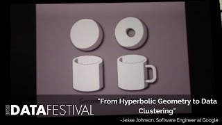 "Jesse Johnson at BDF 2015 | ""From Hyperbolic Geometry to Data Clustering"""