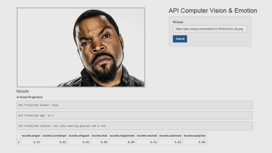 Decrypt Emotion with our Web App…and learn APIs in R