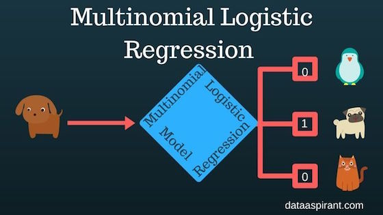 How the Multinomial Logistic Regression Model Works