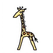An Infinite Parade of Giraffes: Collaborative Cartooning with AI
