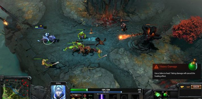 Hype or Not? Some Perspective on OpenAI's DotA 2 Bot