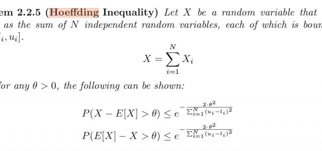 Understanding the Hoeffding Inequality