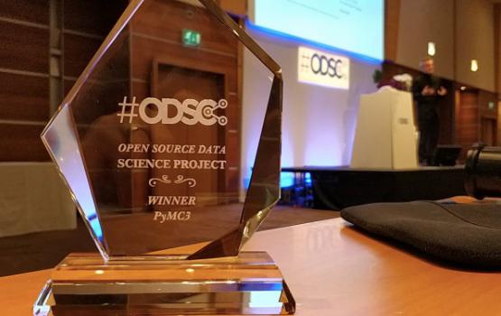 ODSC Europe 2018 – Open Source Data Science Project Award Winner: PyMC3