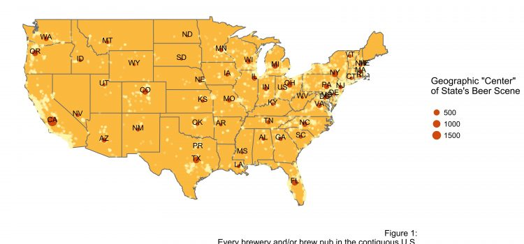 A Beer Lover's BFF?  An Introduction to Geospatial Interpolation via Inverse Distance Weighting