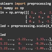 Exploring Scikit-Learn Further: The Bells and Whistles of Preprocessing