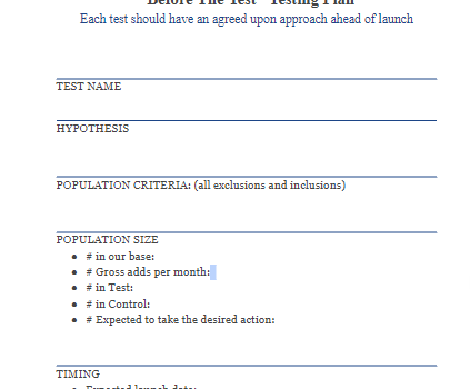 Setting Your Hypothesis Test Up For Success