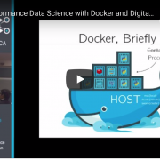 Watch: High-Performance Data Science with Docker and Digital Ocean