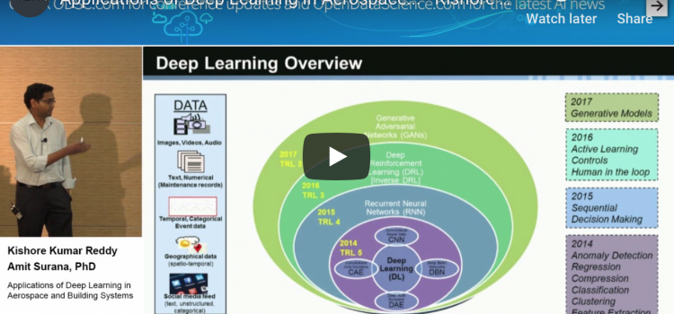 Watch: Applications of Deep Learning in Aerospace