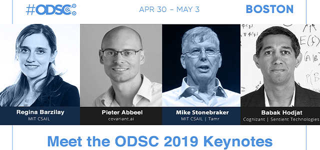 A Timeline of Data Science with the ODSC East 2019 Keynotes