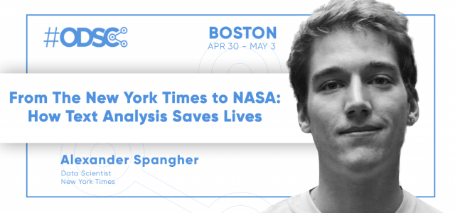 From the New York Times to NASA: How Text Analysis Saves Lives