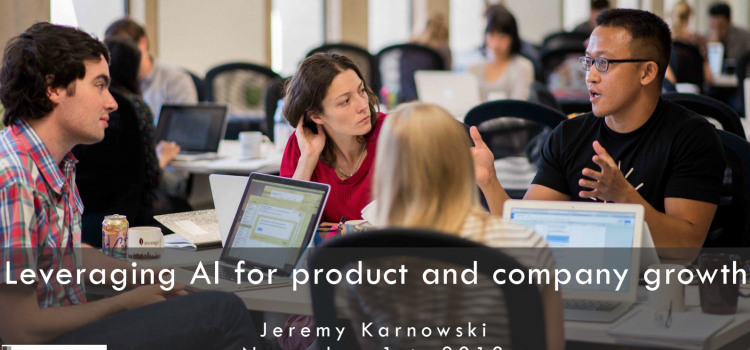 Leveraging AI For Product and Company Growth