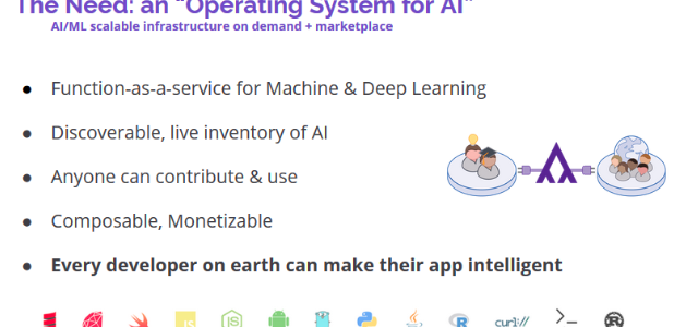 OS for AI: How Serverless Computing Enables the Next Gen of ML