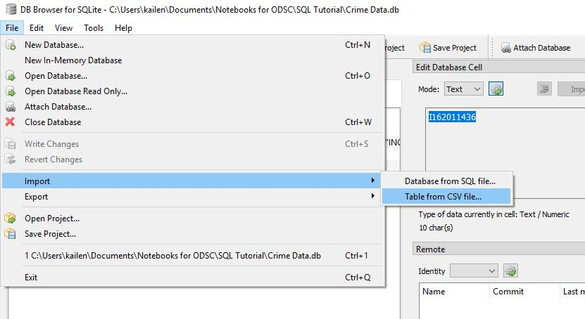 How to Get Started with SQL - OpenDataScience com