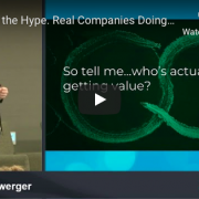 Watch: Beyond the Hype. Real Companies Doing Real Business with AI