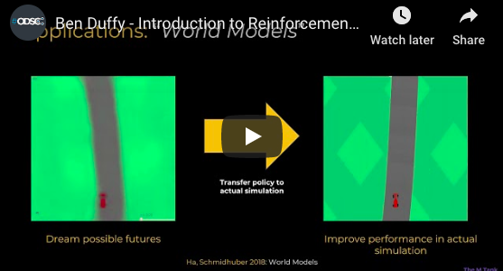 Watch: Introduction to Reinforcement Learning