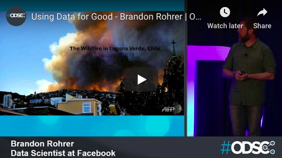 Watch: Using Data For Good