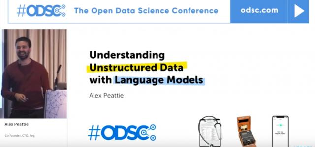 Watch: Understanding Unstructured Data with Language Models