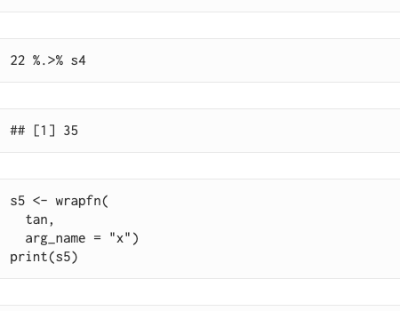 Function Objects and Pipelines in R