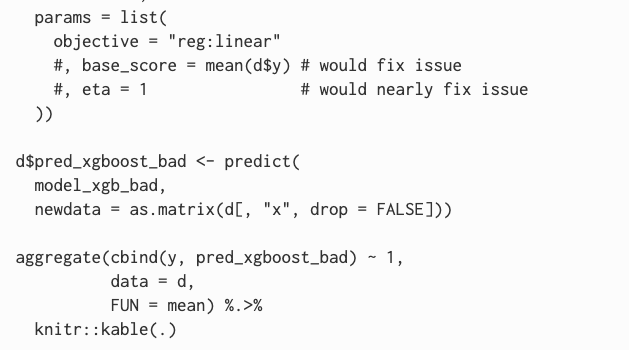Some Details on Running xgboost
