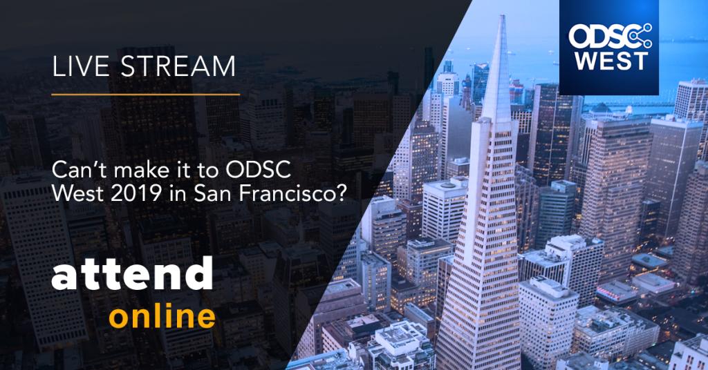 ODSC West 2019 Livestream