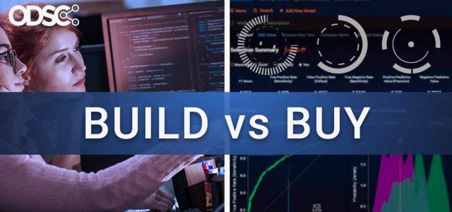 Should You Build or Buy Your Data Science Platform?