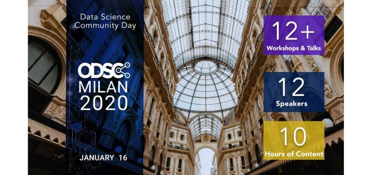 Attend ODSC Milan Data Science Community Day January 16