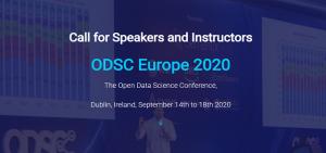 speak at odsc europe 2020