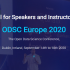 Call for ODSC Europe 2020 Speakers and Content Committee Members