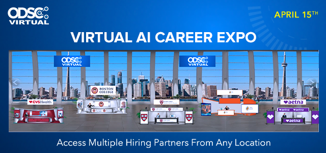 Why Attend the ODSC Virtual Career Expo April 15th