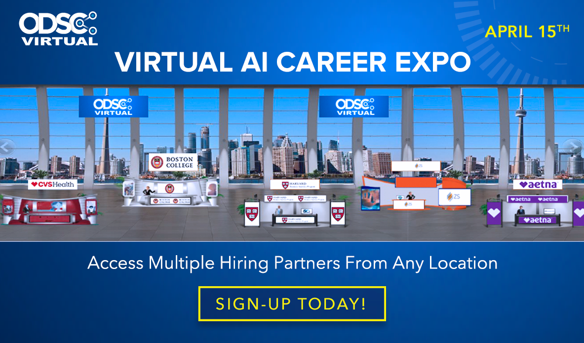 ODSC Virtual Career Expo