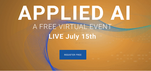 Introducing Applied AI: A Free One-Day Virtual Event