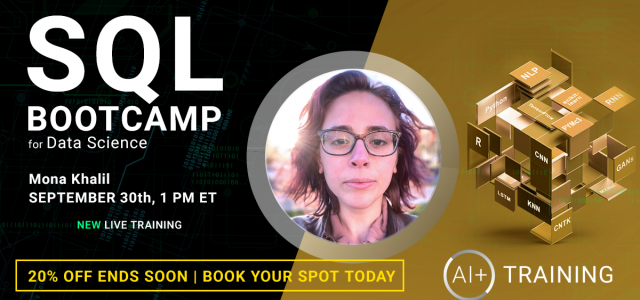A Sneak Peek at SQL Bootcamp for Data Science