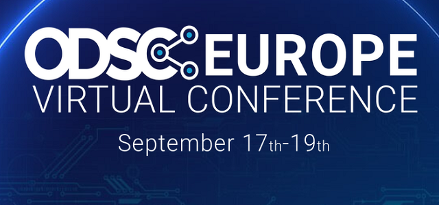Final ODSC Europe 2020 Schedule Released! See it here