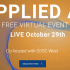 Applied AI October 2020: A Free One-Day Virtual Event
