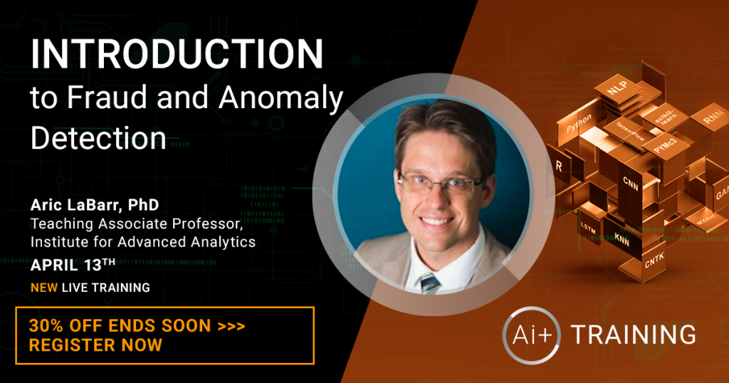 Ai+ Anomaly Detection course with aric labarr