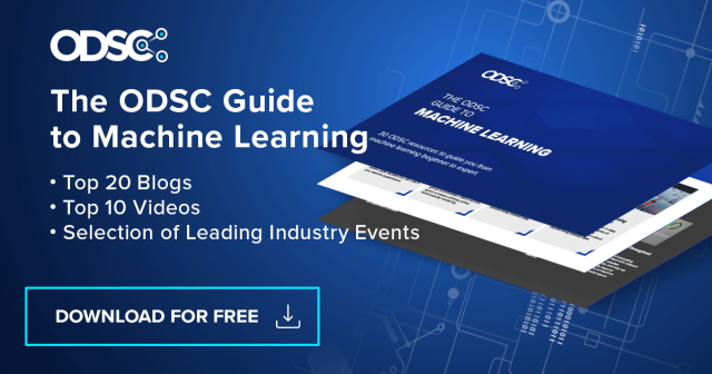 learn machine learning with the ODSC guide to machine learning