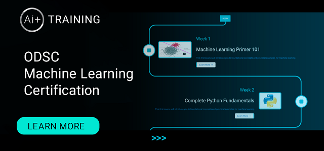 Announcing the ODSC Machine Learning Certification