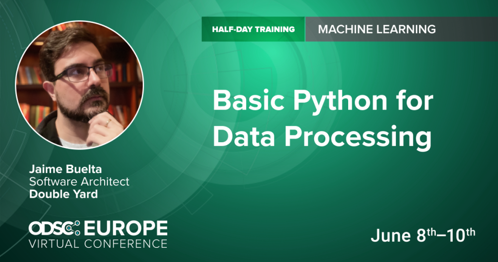Python for Data Processing