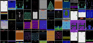 Reinforcement learning in gaming, like atari